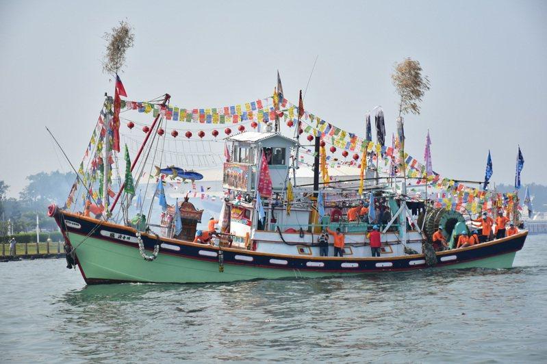 四年一科林園鳳芸宮媽祖海巡,高市府共襄盛舉為高雄、也為台灣祈福。高市府提供