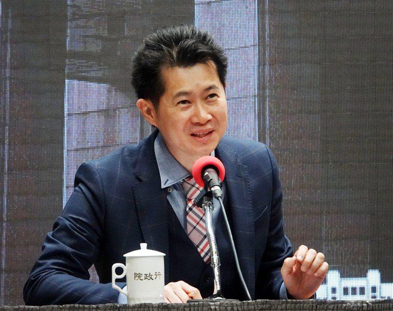 去年11月因為「牛肉麵事件」下台的行政院前發言人丁怡銘(圖),近日已悄悄重返行政院,擔任有給職顧問。圖/聯合報系資料照片