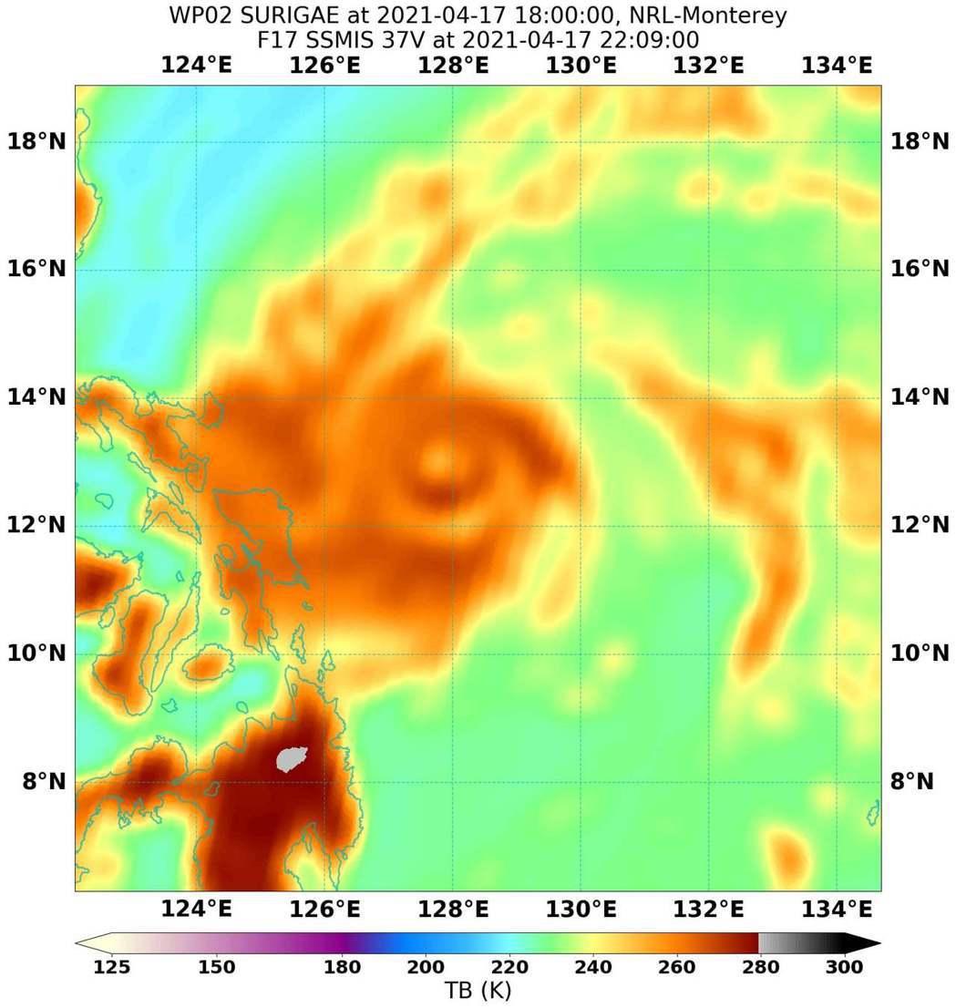 舒力基颱風的雙眼牆。圖/取自NAVY/NRL