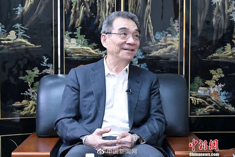 北京大學新結構經濟學研究院院長林毅夫。(中新網)