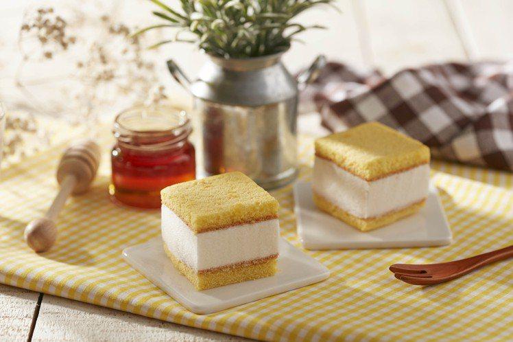 新推出的「長崎蜂蜜冰心蛋糕」,每份70元圖/COLD STONE提供