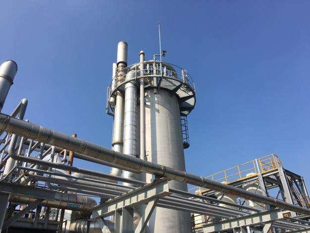雲林縣環保局要求縣內工業區汰換228座鍋爐、改用天然氣。記者陳苡葳/翻攝