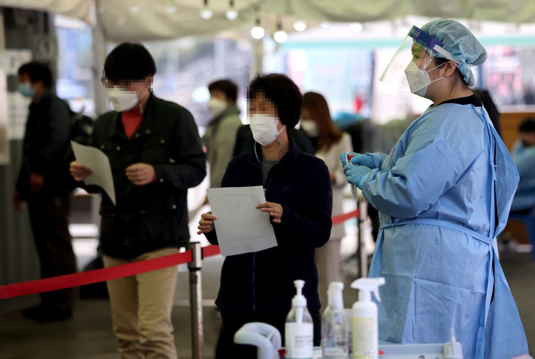 南韓自今年以來已發現9例印度雙重變種病毒確診病例。歐新社