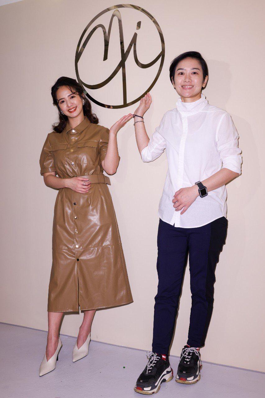 臧芮軒(左)和合夥人楊凱雯投資開店。記者沈昱嘉/攝影
