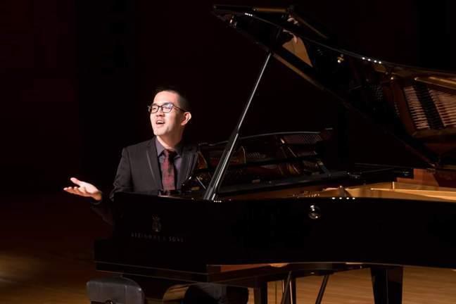 焦元溥參與香港大學的音樂與文學系列。圖/焦元溥提供