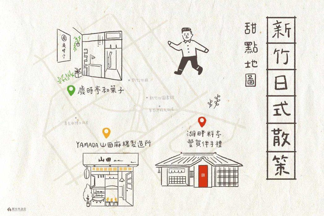 新竹市長林智堅推薦,走訪隱藏在巷弄中的新竹日式甜點。業者/提供