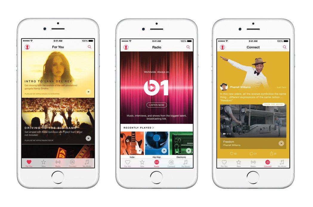 Apple Music應用程式(App)的用戶每串流播放音樂一次,就會支付1美分...