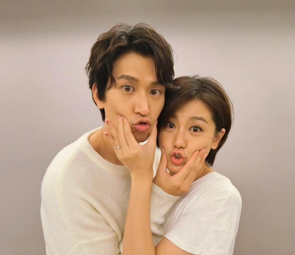 小蠻、邵翔去年登記結婚,今年將迎來第一個寶貝。圖/摘自臉書