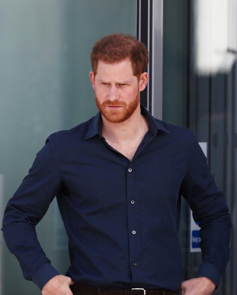哈利王子返英受到許多親友的冷淡對待。圖/路透資料照片