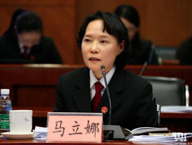 北京市檢察院政治部主任(相當於副檢察長)馬立娜,17日下午3時許在其住所跳樓身亡。 (新浪微博照片)