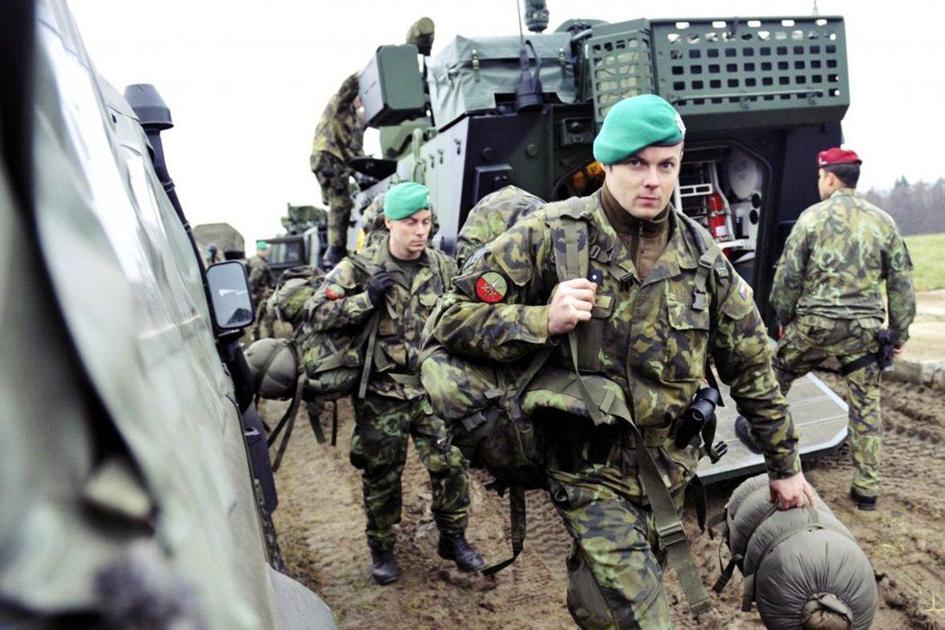 在2014年的爆炸案後,捷克軍方加派進駐維護安全。 圖/捷克國防部