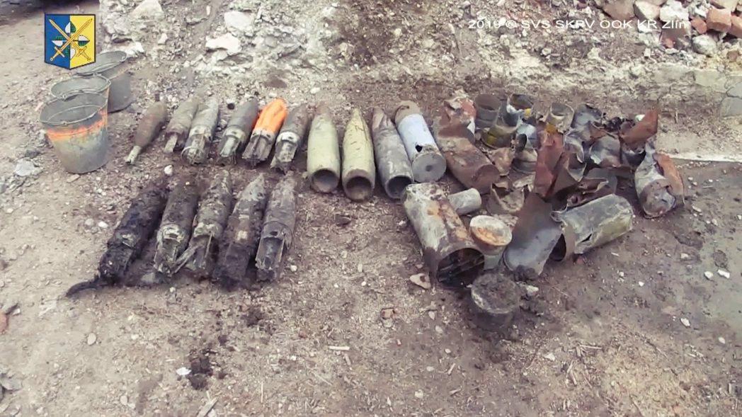 當時被無端炸掉的維貝蒂斯軍火庫,其實儲放的是捷克軍方的一批「外賣軍火」。圖為維貝...