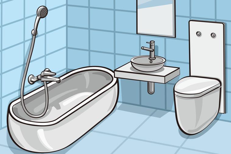 地震來時在浴室怎麼辦? 圖/ingimage