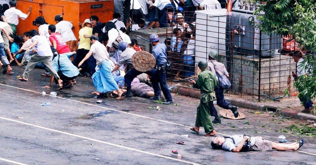「你還記得長井健司之死嗎?」緬甸軍政府在2007年射殺日本記者長井健司後,他的日...