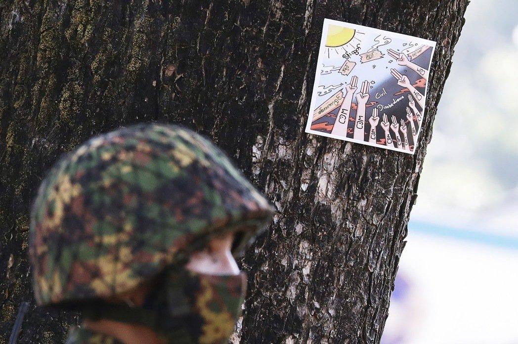 緬甸軍人堅信,「示威者都是罪犯;身為國家的守護者,軍方正在保護緬甸免受外國勢力干...