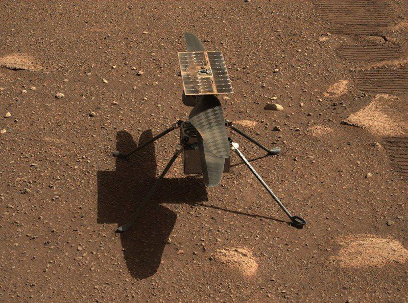 機智號火星直升機。圖/取自NASA