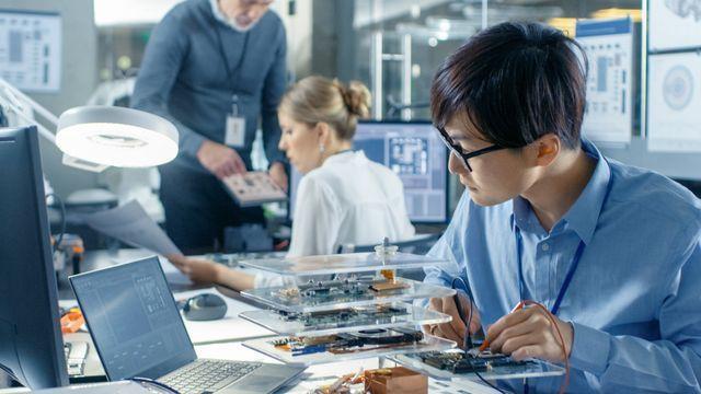 產業創新研究發展示意圖。 工業局/提供