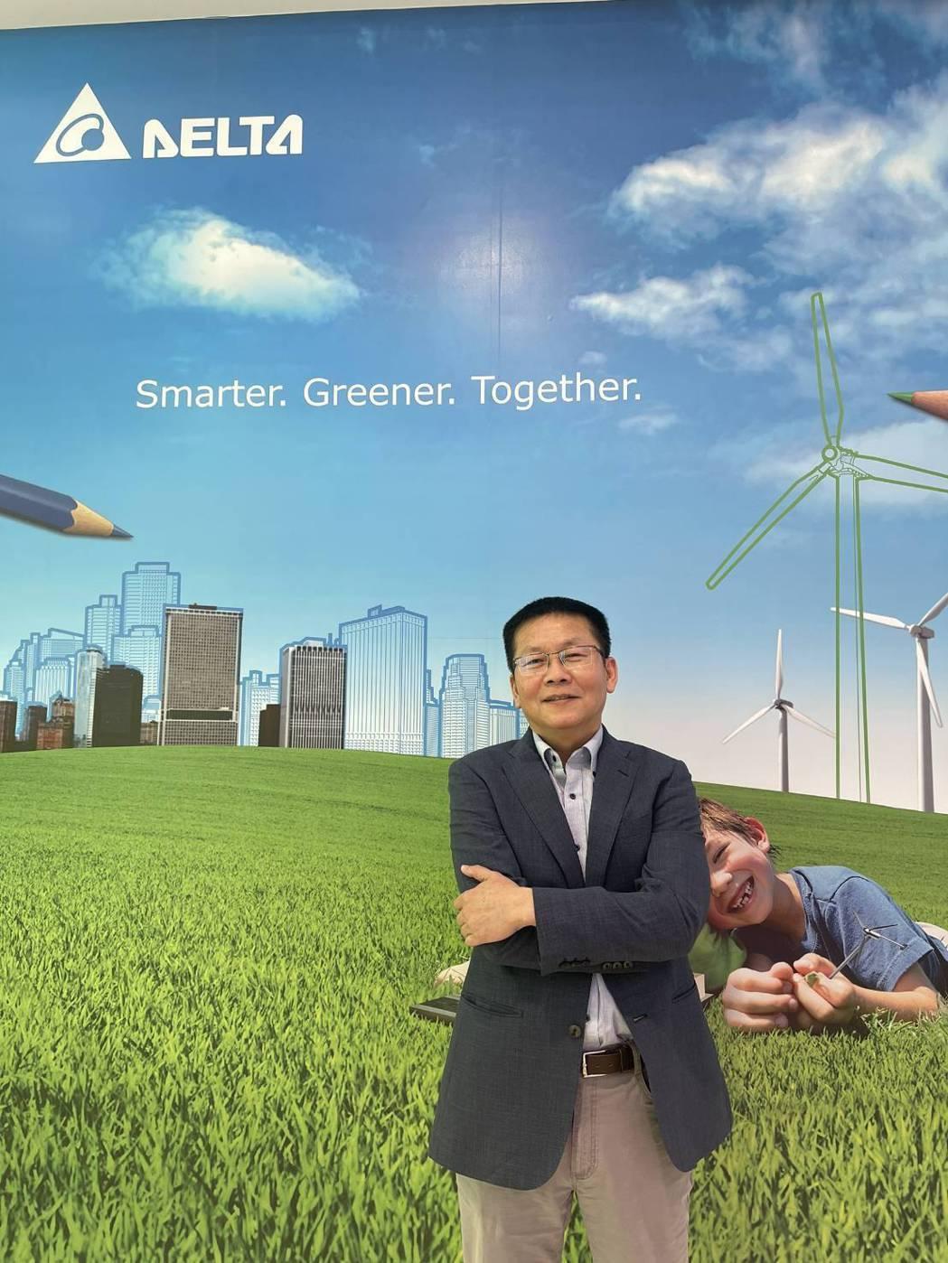 台達電子太陽能變流器事業群處長李雷鳴。 台達電/提供