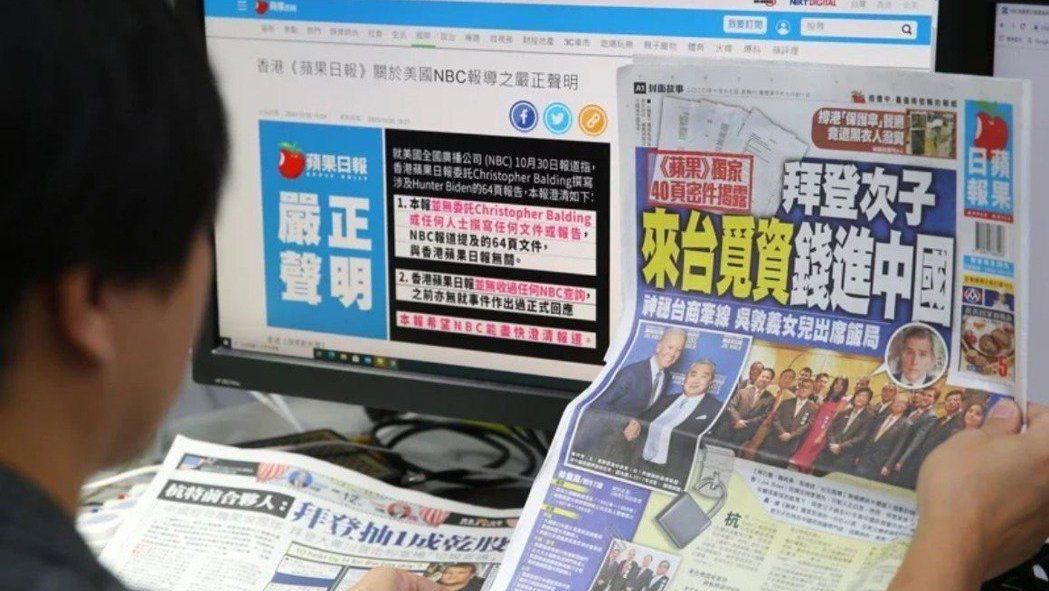 壹傳媒有意出售台灣蘋果日報。聯合報系資料照片/記者陳柏亨攝影
