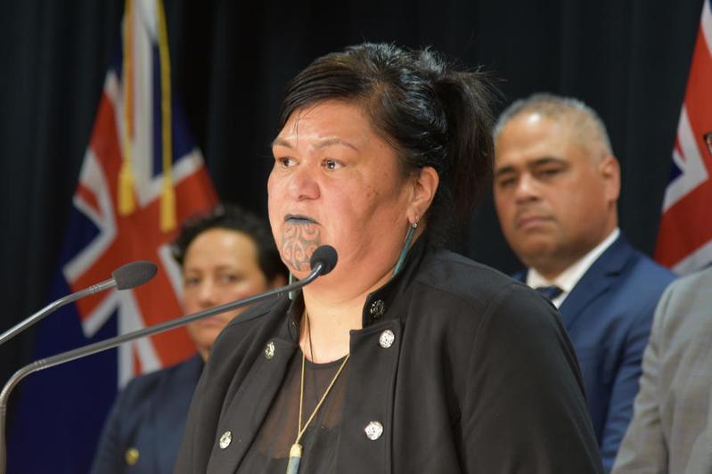 紐西蘭外交部長馬胡塔。 歐新社資料照