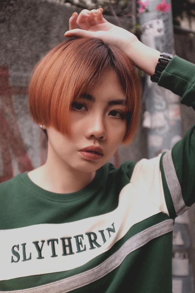 髮型創作/日青髮廊 / 士林設計師Andy,圖/StyleMap美配提供