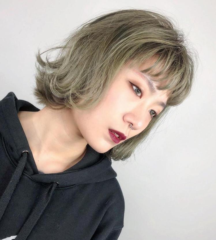 髮型創作/Black hair / 許介,圖/StyleMap美配提供