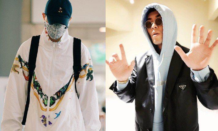 時尚老蕭又有新的穿搭可供粉絲們參考。圖/Versace提供、摘自IG