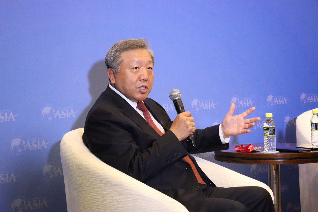 中國資本市場研究院院長吳曉球。記者呂佳蓉/攝影