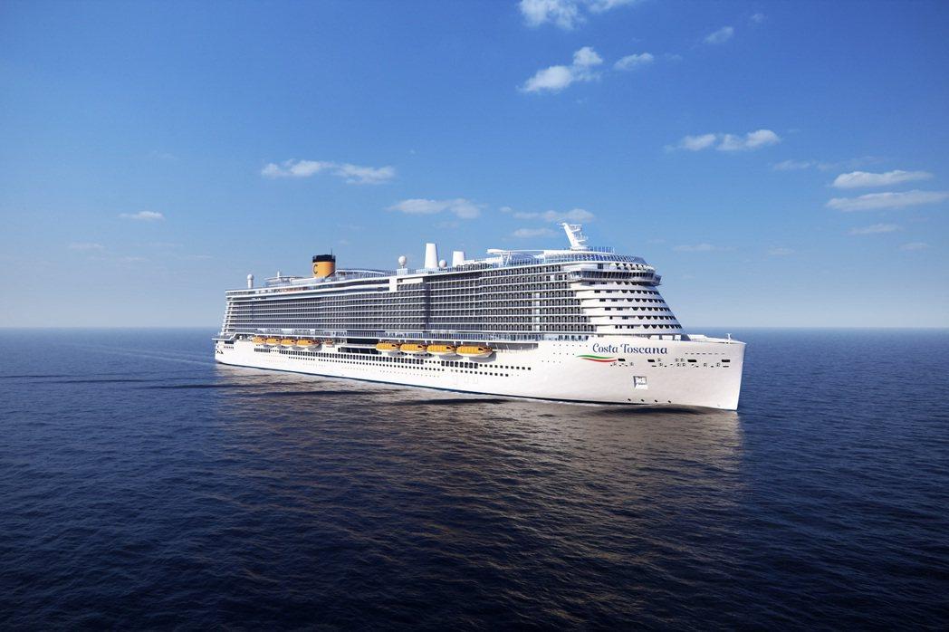 2022年春季Costa Toscana首航地中海 巡遊義、法、西三國。  圖/...