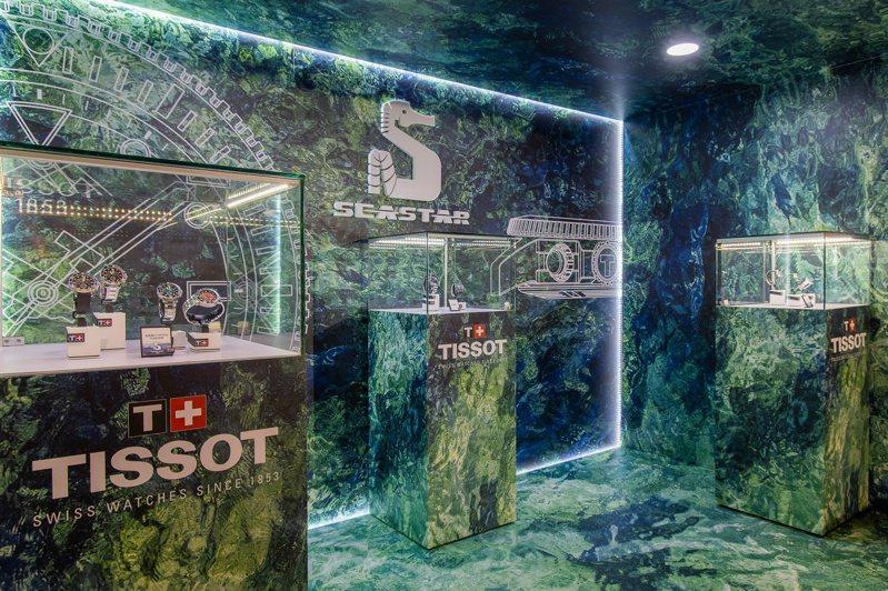 Seastar系列潛水表仍是天梭表的今年重點,其中又以Seastar 2000專業款討論度最高。圖/TISSOT提供