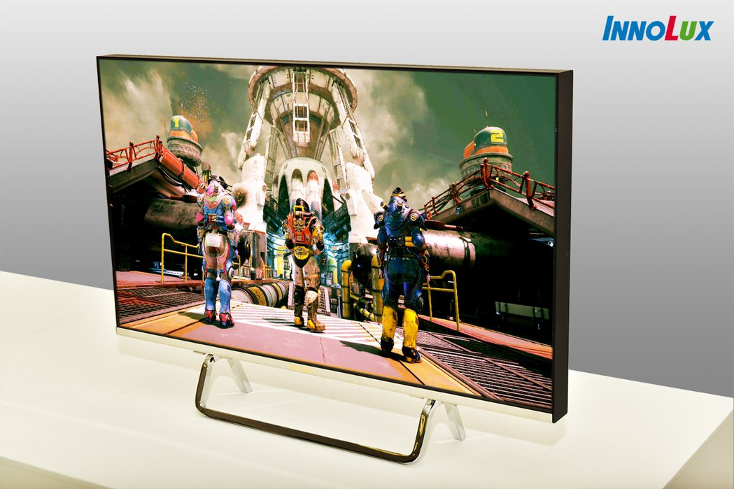群創27吋300Hz超高刷新頻率Mini LED背光電競顯示器。 業者/提供