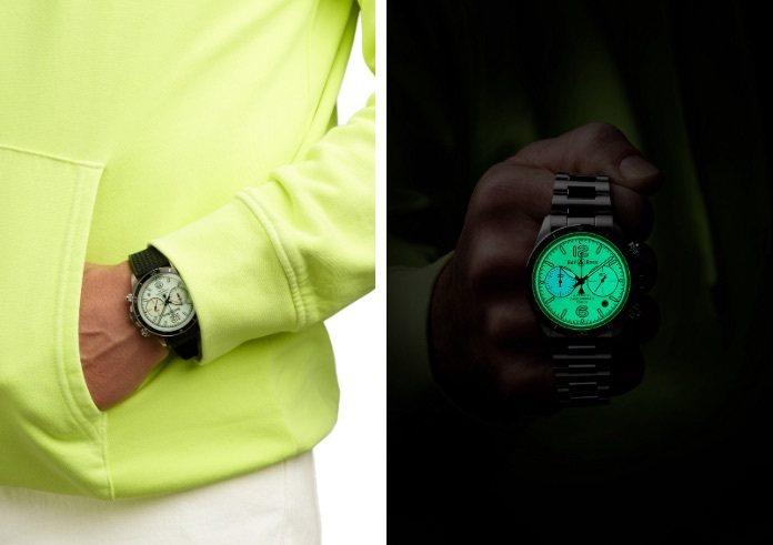 從2017以降,Bell & Ross已發表多款夜光腕表,堪稱一組完整的...