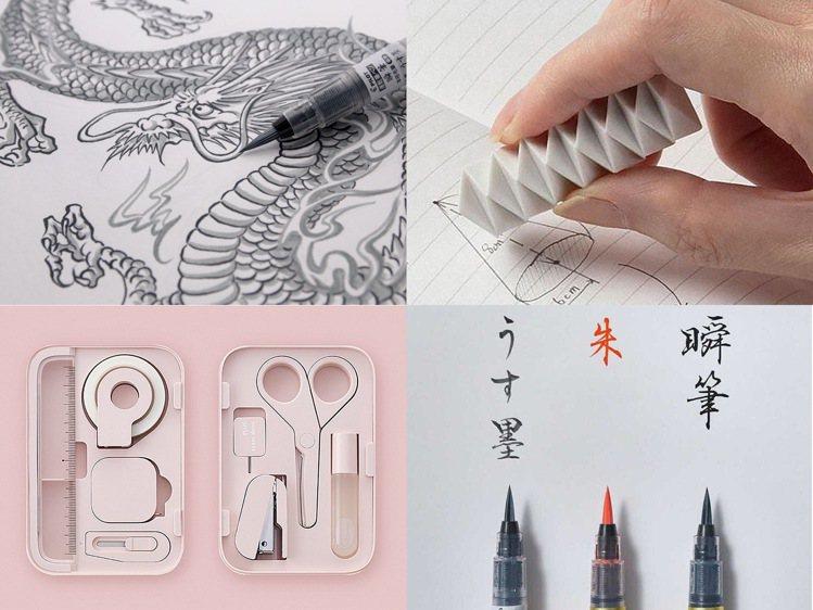誠品線上「2021文具博覽會」蒐羅日本文具大賞年度得獎作品。圖/誠品提供