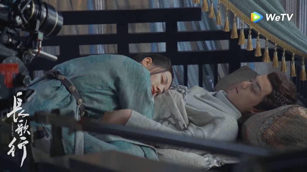 迪麗熱巴為戲增胖求外表減齡。圖/WeTV海外站提供