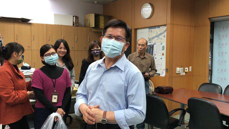 林佳龍卸任交通部長。記者邱瓊玉/攝影