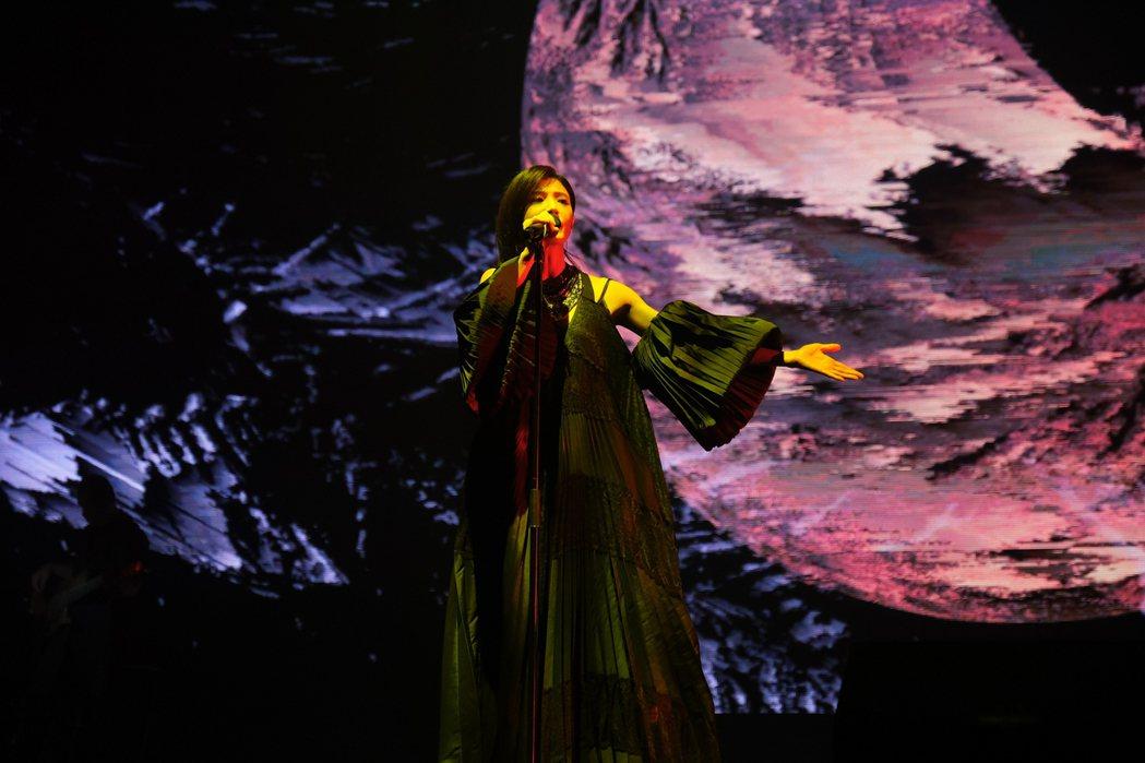 蘇慧倫「生命之花」30周年演唱會評價甚好。圖/相信音樂提供