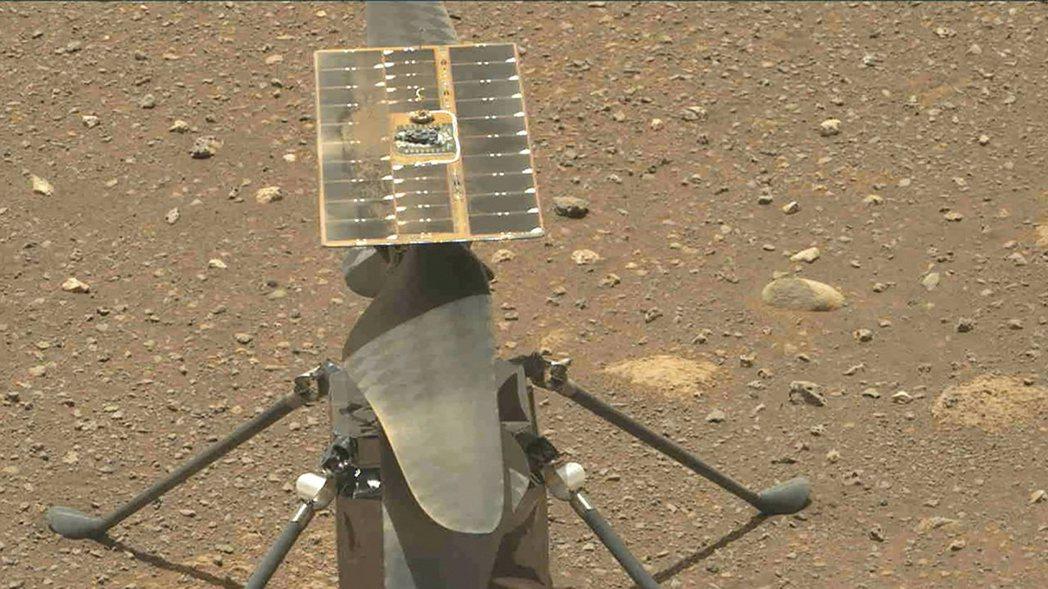 機智號火星直升機。(法新社)