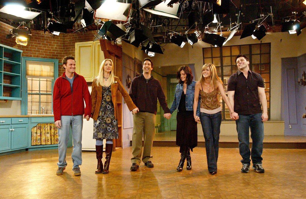 「六人行」至今仍受觀眾歡迎,主角再團聚的特別節目備受各方矚目。圖/達志影像