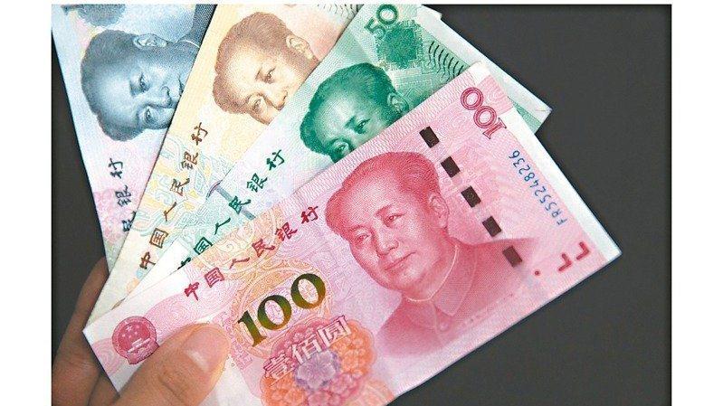 交通銀行台北分行預估,短期內人幣匯率維持升值趨勢。本報系資料照