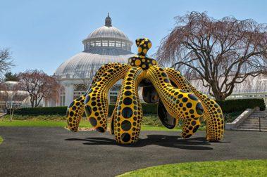 草間彌生特展於紐約植物園登場!「跳舞南瓜」、「我想飛向宇宙」首度亮相,帶來希望與幸福感