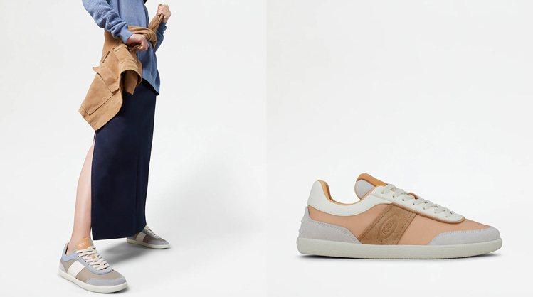 TOD'S女士復古休閒鞋 。NT23,000。 圖/TOD'...