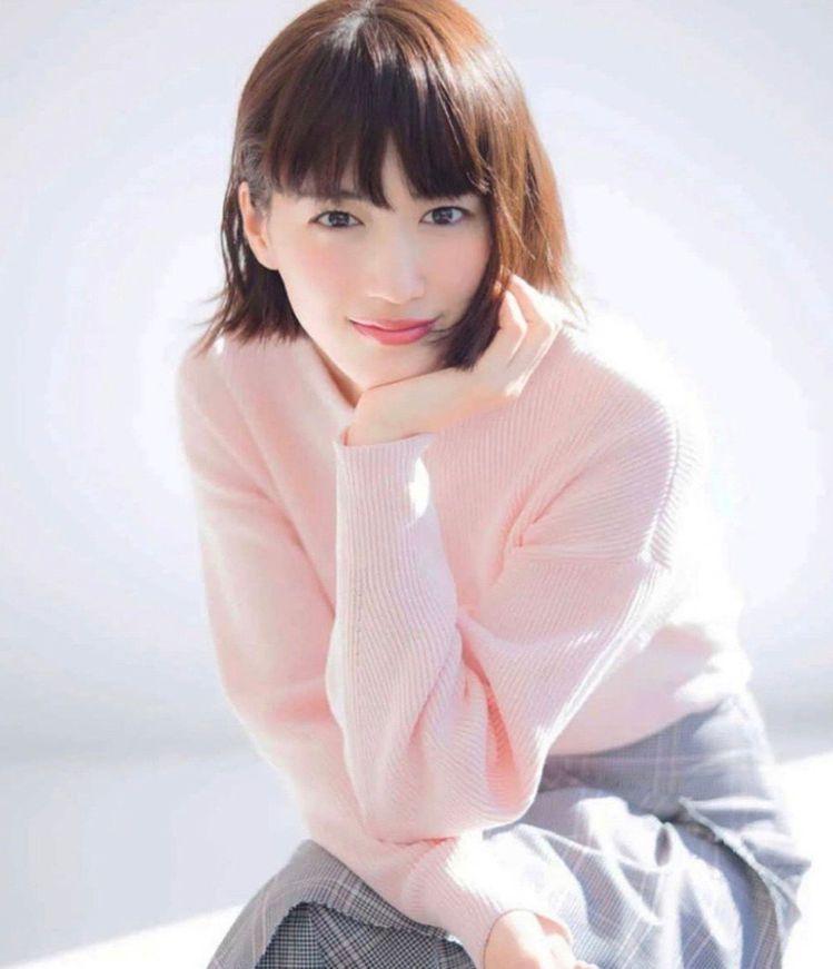 日本女星綾瀨遙。(取材自微博)
