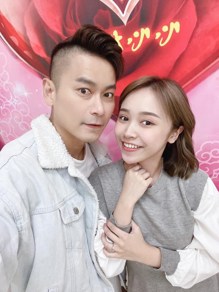 陳彥廷與呂璦唯登記結婚了。圖/擷自臉書