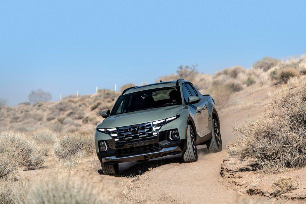 全新Hyundai Santa Cruz是款針對年輕買家的皮卡。 摘自Hyund...