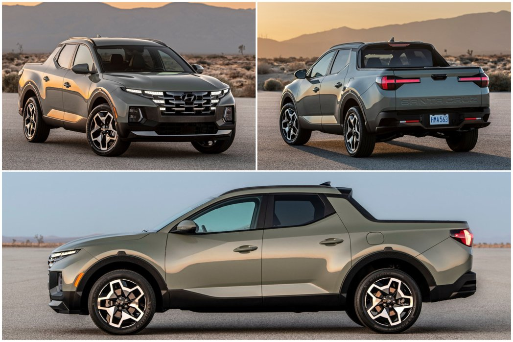 全新Hyundai Santa Cruz車長4,970mm、車寬1,905mm、...