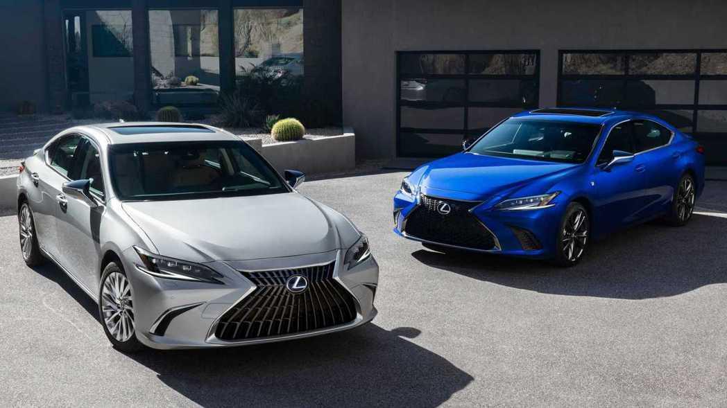 2022 Lexus ES。 圖/Lexus提供