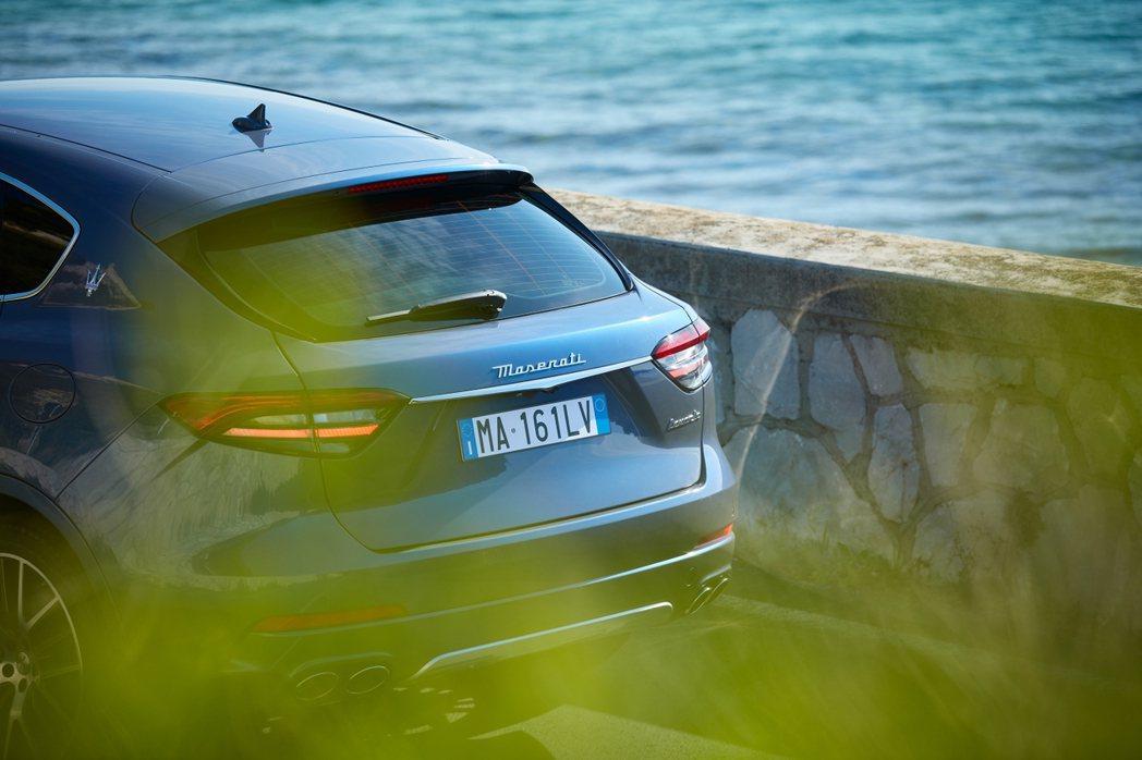 全新Maserati Levante Hybrid。 摘自Maserati