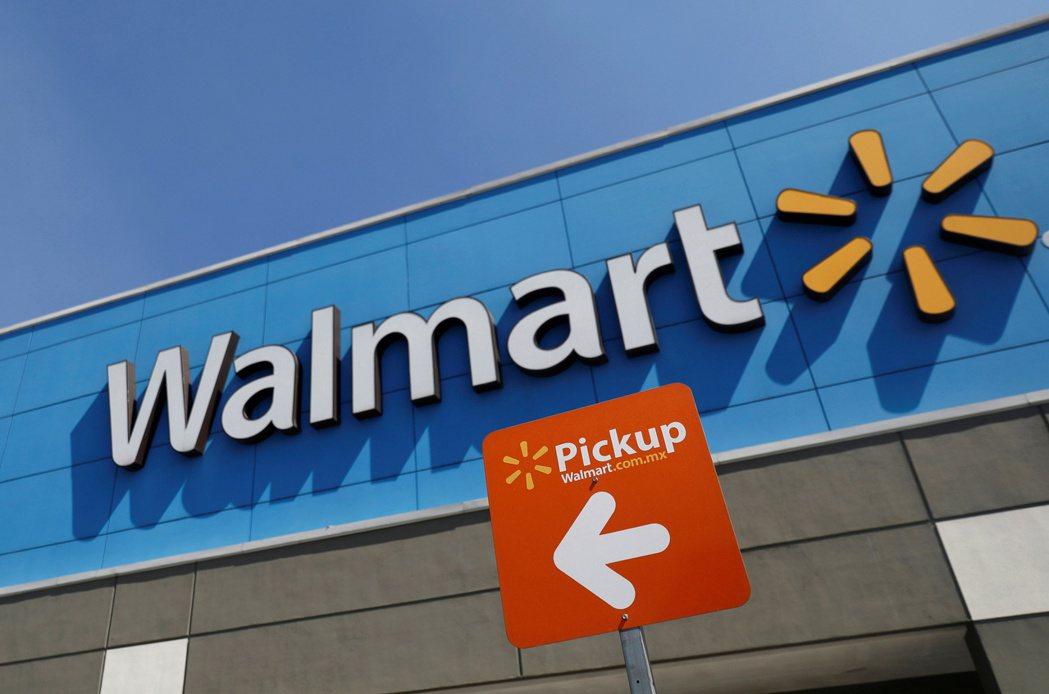 美國知名零售企業沃爾瑪。路透社