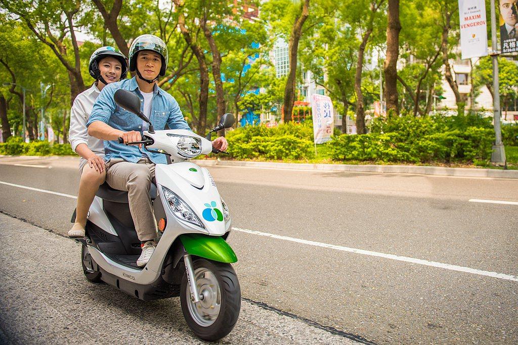 現在加入WeMo Scooter會員享前6分鐘免費,趟趟都有優惠。 圖/WeMo...