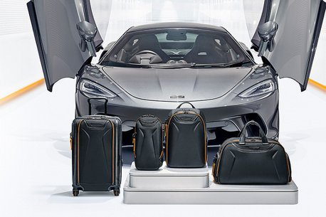 TUMI與McLaren聯名!取自賽車元素推出多款系列商品